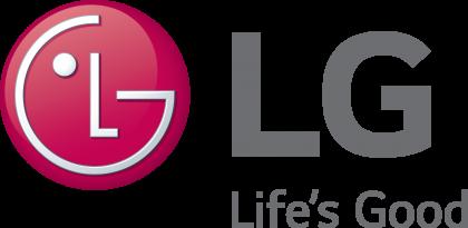 LG lifes good gray lettering