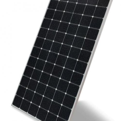 LG 400 Bifacial silver